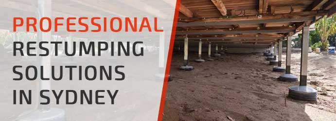 Professional Restumping Solutions in Sydney