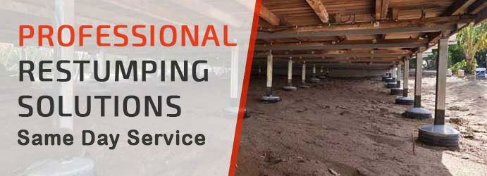 Professional Restumping Solutions in Melbourne